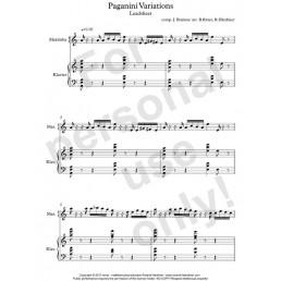 Paganini Variations (32 pages)